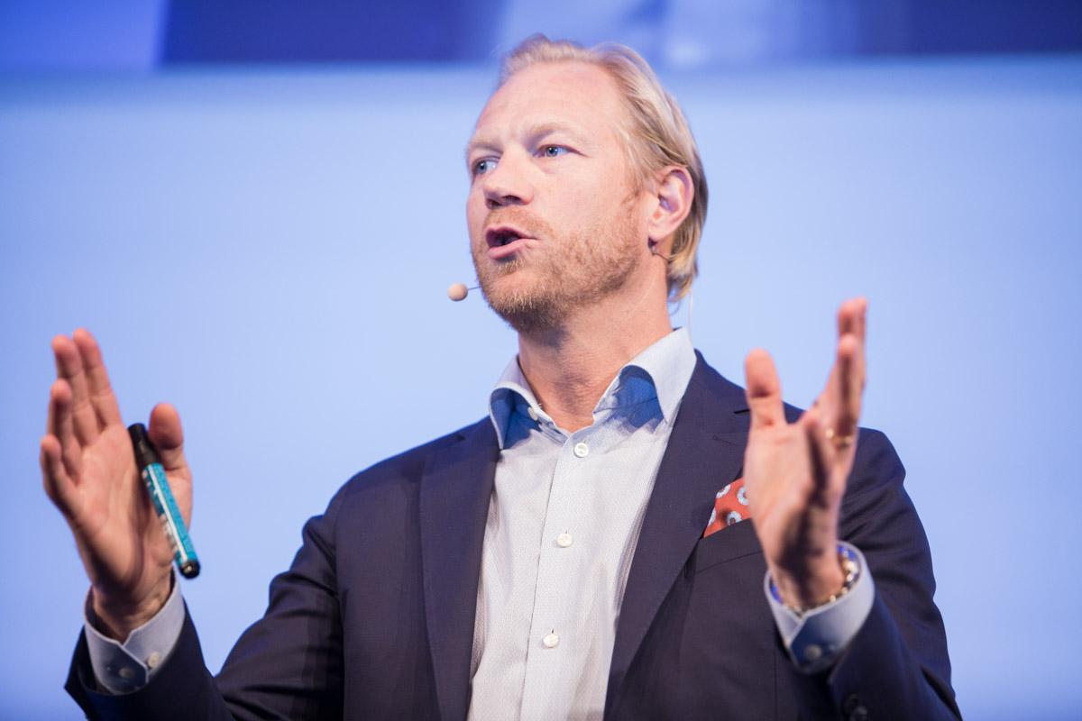 Jonas Kjellberg speaks on success through failure at the 2017 European Investment Conference